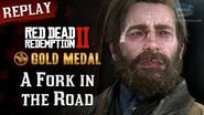 RDR2 PC - Mission 63 - A Fork in the Road Replay & Gold Medal