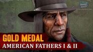 Red Dead Redemption 2 - Mission 51 - American Fathers I & II Gold Medal