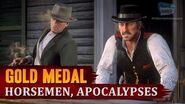 Red Dead Redemption 2 - Mission 53 - Horsemen, Apocalypses Gold Medal