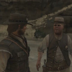 John et Eli dans Pike's Basin