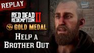 RDR2 PC - Mission 46 - Help a Brother Out Replay & Gold Medal