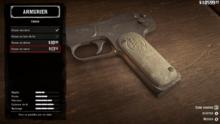 Pistolet M1899 07