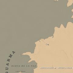 Le nord de l'île