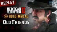 RDR2 PC - Mission 3 - Old Friends Replay & Gold Medal
