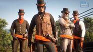 Red Dead Online Battle Royale Mode - Gun Rush Gameplay