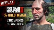 RDR2 PC - Mission 12 - The Spines of America Replay & Gold Medal