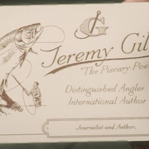 Carte de visite de Jeremy Gill
