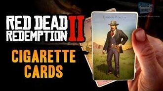 Red Dead Redemption 2 - All Cigarette Cards (Quick Method & All Locations)