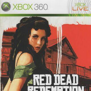 Scarlet Lady sur le manuel de la version Xbox 360