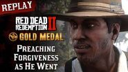 RDR2 PC - Mission 34 - Preaching Forgiveness as He Went Replay & Gold Medal