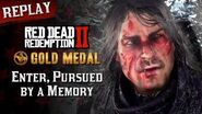 RDR2 PC - Mission 2 - Enter, Pursued by a Memory Replay & Gold Medal