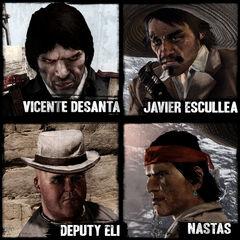 Les personnages jouables