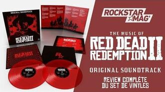 THE MUSIC OF RED DEAD REDEMPTION II - VINYLE REVIEW Rockstar Mag'