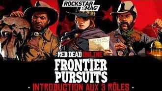 RED DEAD ONLINE INTRODUCTION AUX 3 RÔLES DES CARRIÈRES DE L'OUEST Rockstar Mag'