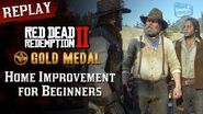 RDR2 PC - Mission 95 - Home Improvement for Beginners Replay & Gold Medal