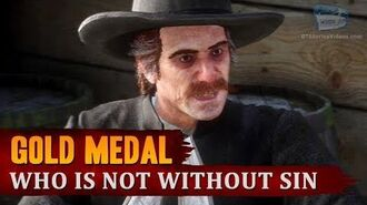 Red Dead Redemption 2 - Mission 7 - Who is Not without Sin Gold Medal