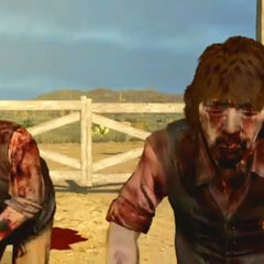 Eli et Jonah en morts-vivants