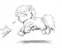 156147 UNOPT safe fluffy-pony fluffy-pony-original-art earth-pony artist-primogenitor34