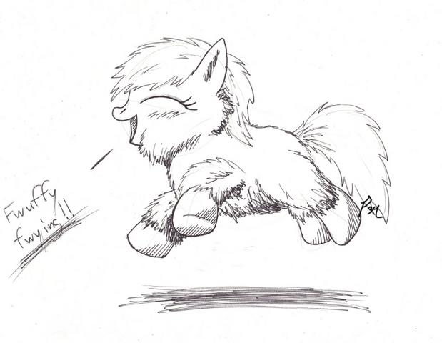 File:156147 UNOPT safe fluffy-pony fluffy-pony-original-art earth-pony artist-primogenitor34.png