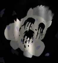 128680 UNOPT fluffy-pony fluffy-pony-grimdark zalgo artist-mr-tiggly-the-wiggly-walnut