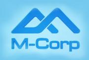 M-Corp logo