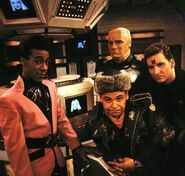 Quality Red Dwarf Crew Image (Season 4)