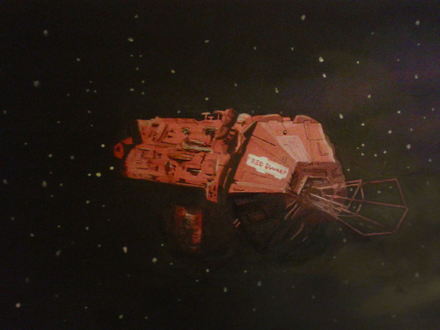Image result for Red Dwarf spaceship