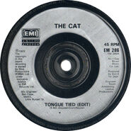 Rd tongue tied 45 label