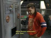 Beer milkshakes