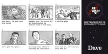 Red Dwarf Storyboards (Give & Take)