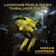 Red Dwarf Lister s Hopper by P2Pproductions