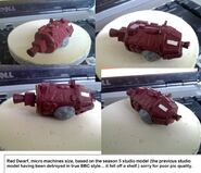 Red dwarf model ship by hordriss-d3fj4iw