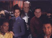 The Red Dwarf Crew (Series VII)