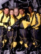 Red Dwarf Crew Season VIII (Canaries)