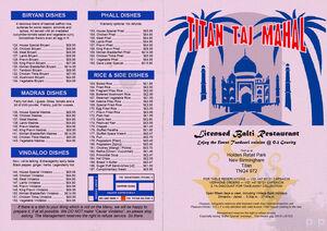 Red dwarf titan taj mahal menu by p2pproductions-d64c02j