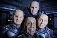 Red Dwarf Crew (Mechanoid Versions)