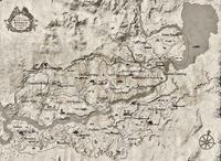 Armadillo sulla mappa