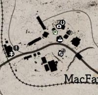MacFarlane's Ranch mappa