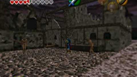 Legend of zelda oot Link gets raped by a redead