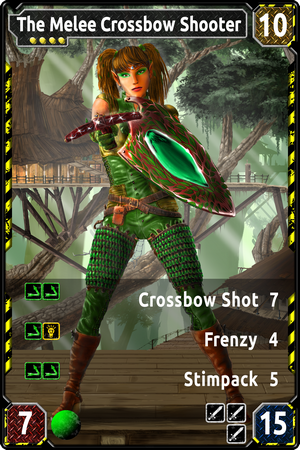 TAMIARA The Melee Crossbow Shooter