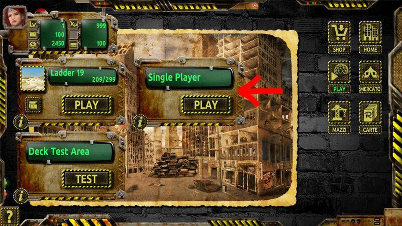 Single Player 001 ITA