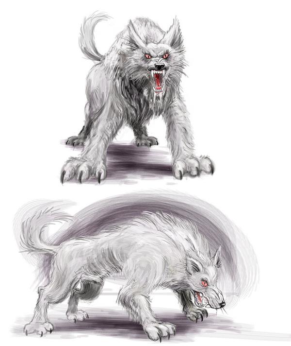 Animali Vampiri LupoGhiacciato
