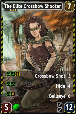 TAMIARA The Elite Crossbow Shooter