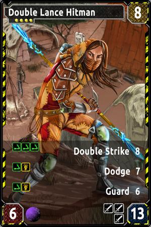 GRAUNT Double Lance Hitman-0