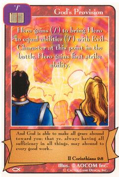 God's Provision - Apostles
