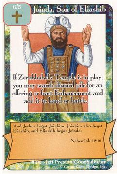 Joiada, Son of Eliashib (FF) - Faith of Fathers