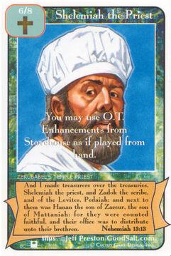Shelemiah the Priest (Pi) - Priests