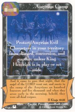 Assyrian Camp (Pi) - Priests