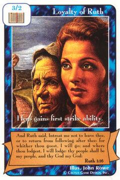 Loyalty of Ruth - Patriarchs