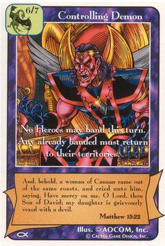 Controlling Demon - Apostles